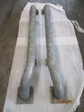 halve wieldwinger OVP rond 114x3,6x1950 mm. met knik (rechts)