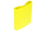 Rubberen beschermprofiel geel t.b.v. IPE 140, 100 mm.