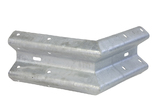 Buitenhoek type A, 1x90 gr., haaks (railprofiel) w.l. 465mm.