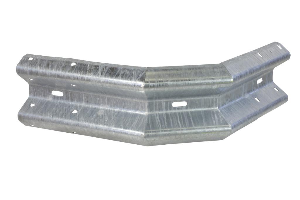 Buitenhoek type A, 2x45 gr, werkende lengte 705 mm