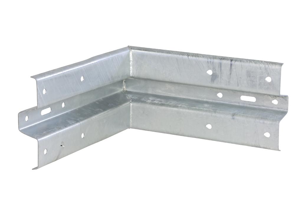 Binnenhoek type B (railprofiel) w.l. 430 mm