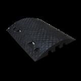 Verkeersdrempel middenelement zwart 490x400x50 mm. kleurvast