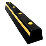 Parkeerstop geel/zwart 1000 x 150 x 80 mm