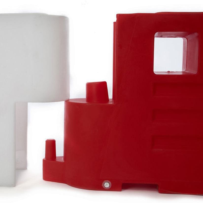 Menskerende barrier BB2000 rood