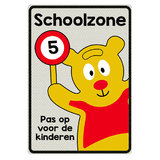 Traffic Teddy | Alu bord 1e Bord Klasse 3