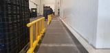 Kunststof hekwerk ø70mm. 1500x1100