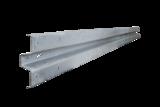 Beschermingsrail type B 2e keus - 4000 mm - thvz