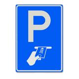 Verkeersbord BW112 betaald parkeren