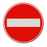 Verkeersbord C2 Eenrichtingsweg
