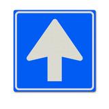 Verkeersbord C3 Eenrichtingsverkeer