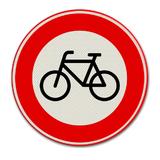 Verkeersbord C14 - Gesloten voor fietsen en voor gehandicapten voertuigen zonder motor