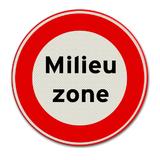 Verkeersbord C22a - milieuzone