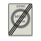 Verkeersbord C22ZBE - Milieuzone
