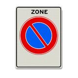 Verkeersbord E1-ZB - Zone parkeerverbod