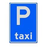 Verkeersbord E5 - Parkeergelegenheid voor taxi's