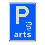 Verkeersbord E8-14 Parkeergelegenheid alleen bestemd voor arts