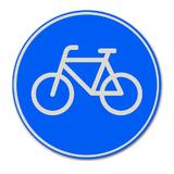 Verkeersbord G11 - verplicht fietspad