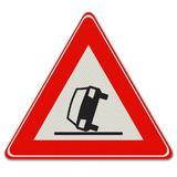 Verkeersbord J34 - Waarschuwing voor ongeval