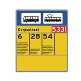 Verkeersbord L3 - Bushalte/tramhalte