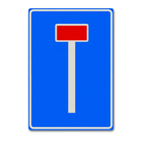 Verkeersbord L8 - doodlopende weg