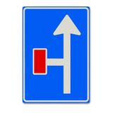 Verkeersbord L9-2 Vooraanduiding doodlopende weg