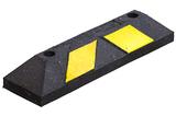 Varkensrug geel-zwart 560x150x100 mm 10 stuks