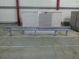 Beschermingsrail type b op betonvloer