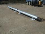 Doorrijbeveiliging rond 114 op betonvloer 200 mm.