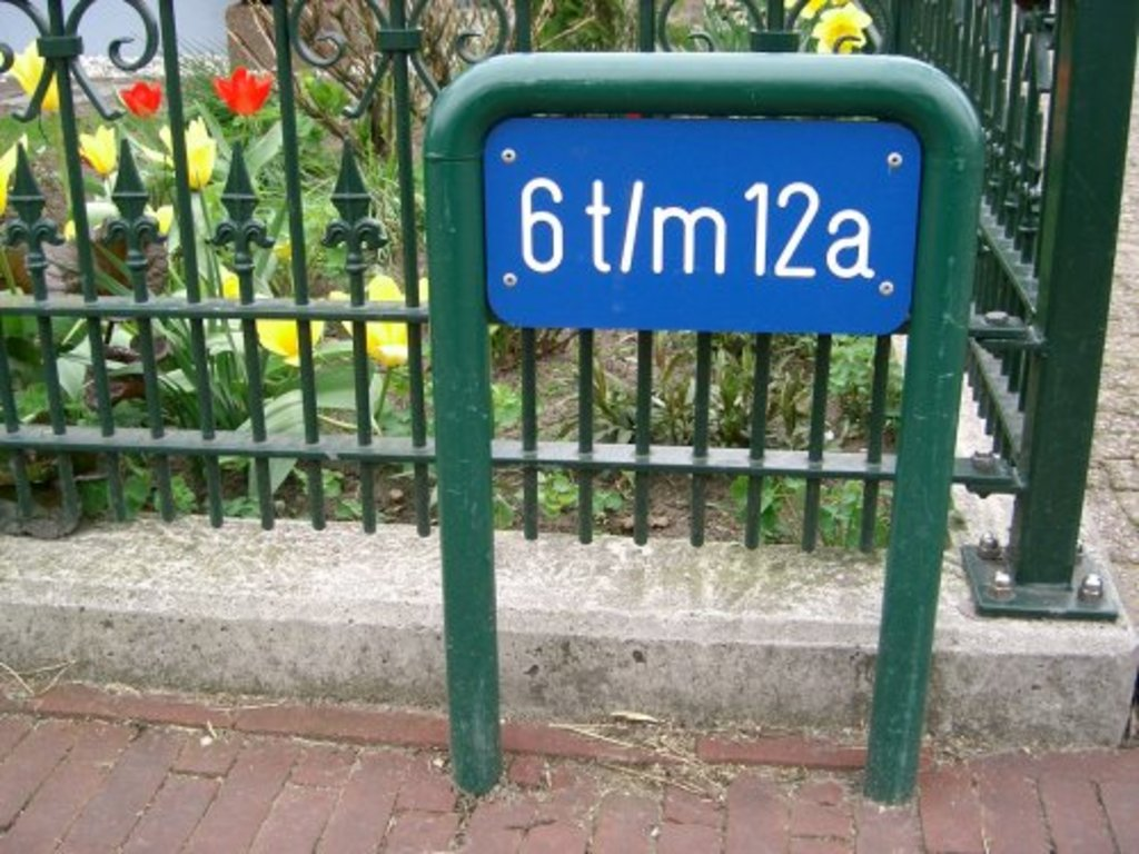 Beugel 48 mm. tbv huisnummering