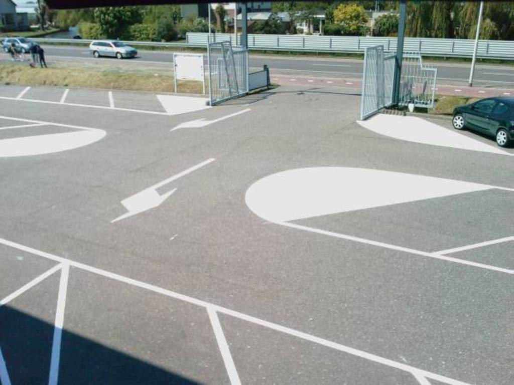 Belijning Parkeerterreinen