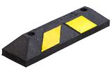 Varkensrug geel-zwart 560x150x100 mm.