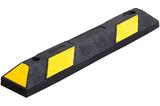 Varkensrug geel-zwart Enkel 900x150x100 mm.