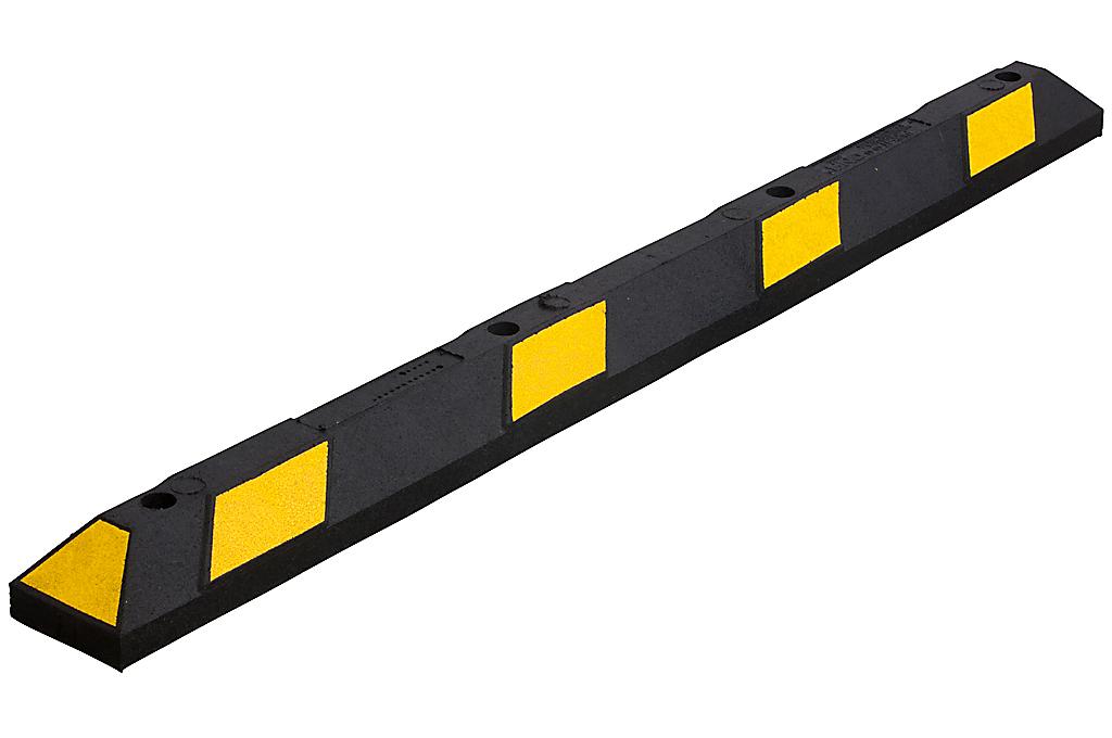 Varkensrug geel-zwart Dubbel 1800x150x100 mm.