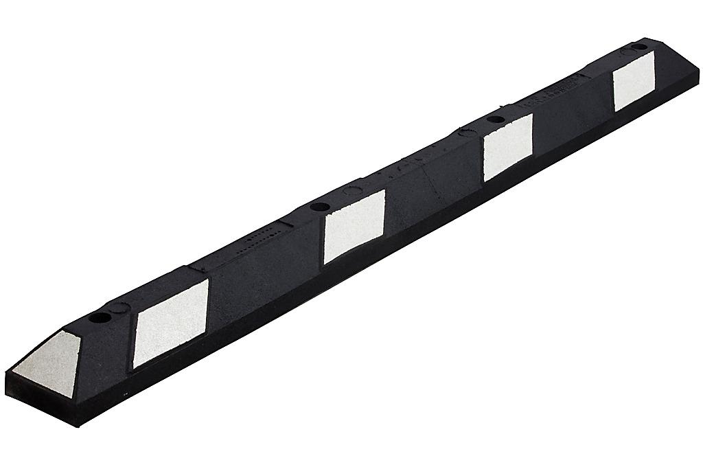 Varkensrug wit-zwart Dubbel 1800x150x100 mm.