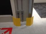Gezette stellingpootbeschermer 1 x 45 gr.