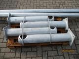 4x Leuningpalen Ø159x1000mm |2x Ligger Ø114x3000mm