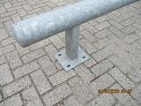 Aanrijbeveiliging op voetplaat Ø114x475x4100mm Verzinkt